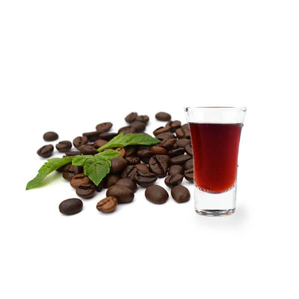 kava z rumom